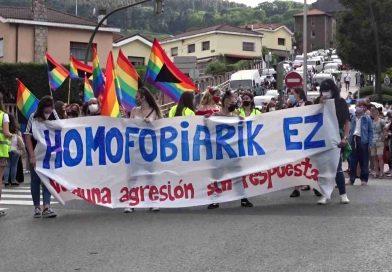 Basauri responde a la homofobia
