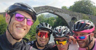 Cuatro triatletas del club basauritarra Egurre K3 afrontarán el ultraman de Asturias