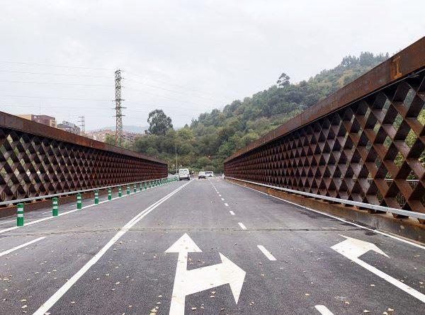 El puente de la Baskonia se cerrará este domingo por la mañana en sentido N-634