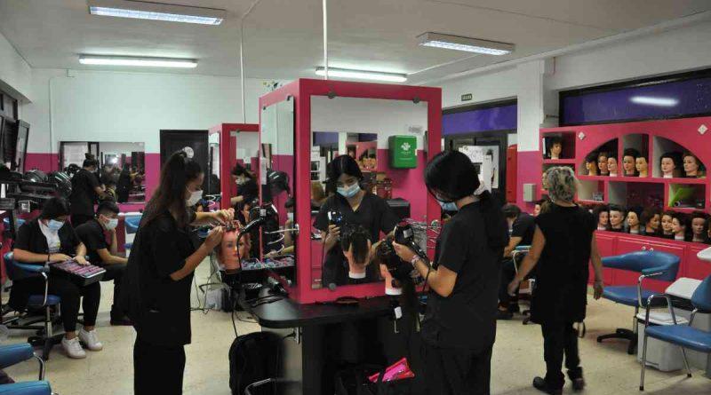 El CIPEB comienza el curso con lleno absoluto y nuevo ciclo de peluquería y estética