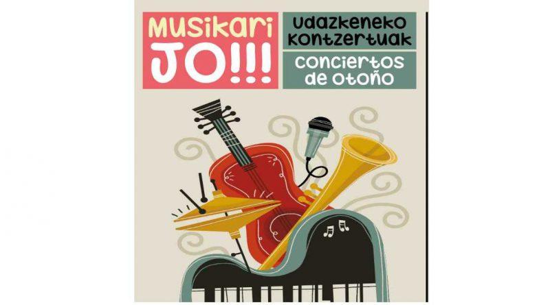 Cita con la música en Basauri con «Musikari Jo!»